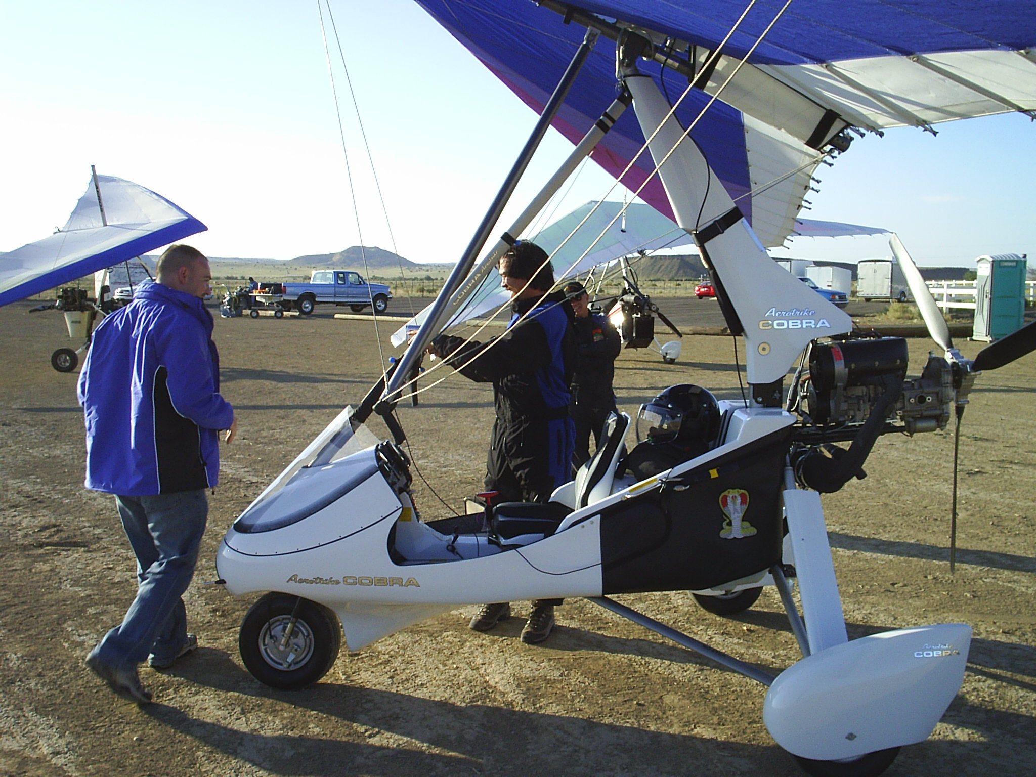 New Mexico Trikes and Hang Glider flights, CFI, Aeros trikes and wings